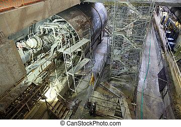 équipement, tunneling