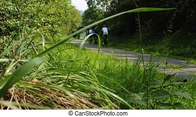 équitation bicyclette