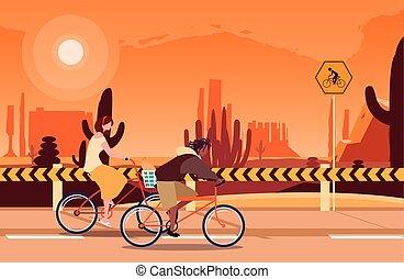 équitation, image, gens, vélo, activité