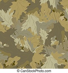 érable, camouflage, background.eps