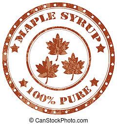 érable, syrup-stamp