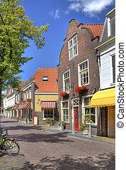 ércbánya, utca, történelmi