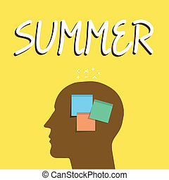 északi, ügy, fénykép, kiállítás, június, évad, írás, jegyzet, félgömb, év, showcasing, summer., warmest, augusztus