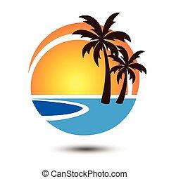 été, 2, logo