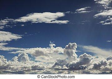 été, cloudscape