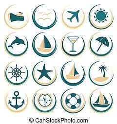 été, icônes voyage