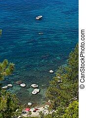 été, lac tahoe