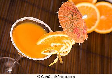 été, oranges