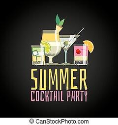 été, partie cocktail