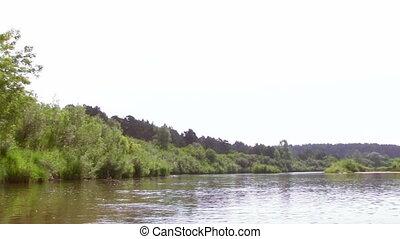 été, rivière