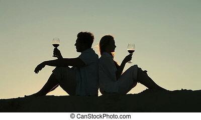 été, vin