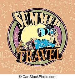 été, voyage