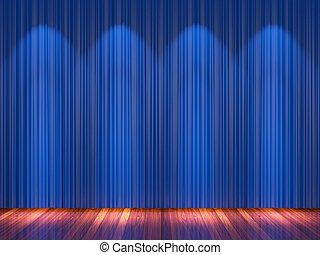 bleu rideaux draper th tre projecteurs velours tape beau rideaux draper th tre. Black Bedroom Furniture Sets. Home Design Ideas
