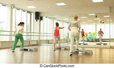 étape, fitness