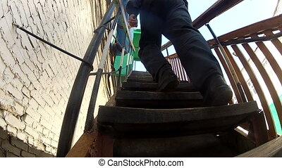 étapes, escalier