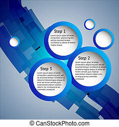 étapes, trois