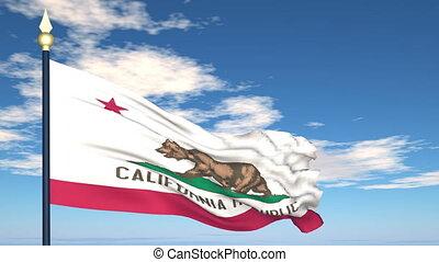 état, california signalent, usa