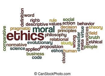 éthique, philosophie, moral, fond