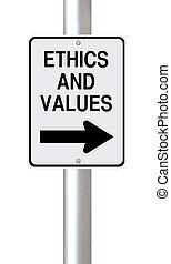 éthique, valeurs