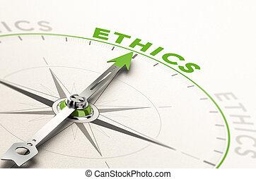 éticas, empresa / negocio