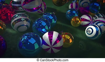 """étincelant, noël, balls"""", """"merry"""