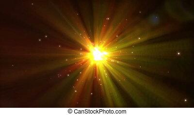 étincelles, lumière, résumé