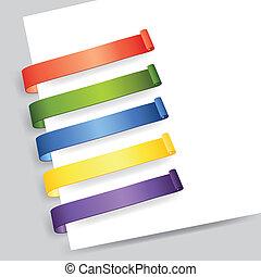 étiquette papier