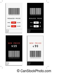 étiquette prix