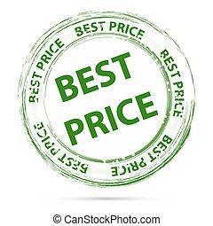 étiquette prix, mieux