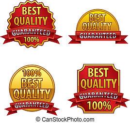 étiquettes, qualité, mieux