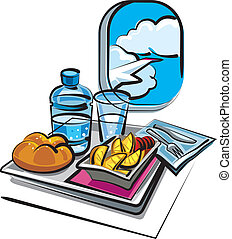 étkezés, levegő