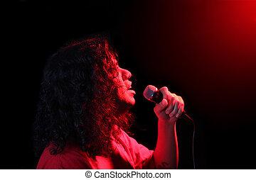 étnico, cantante