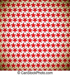 étoile, arrière-plan rouge
