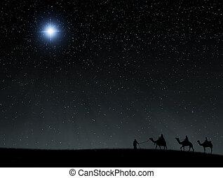 étoile, bethlehem