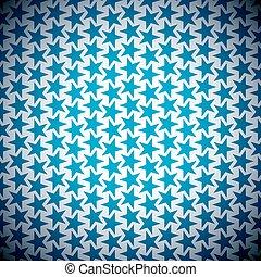 étoile bleue, fond