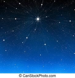 étoile brillante