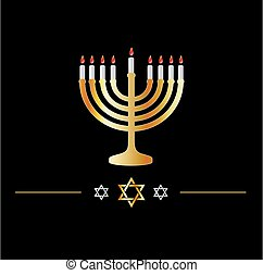 étoile, célébration, hanukkah, symbole juif, symbol-, david, vacances, heureux