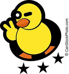 étoile, canard