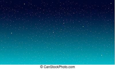 étoile, ciel