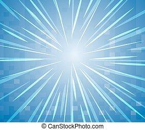 étoile, clair, conception, fond