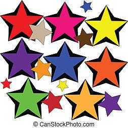 étoile, collection