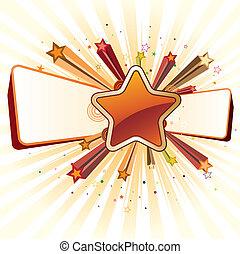 étoile, concevoir élément