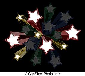 étoile, couverture