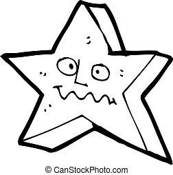 étoile, dessin animé