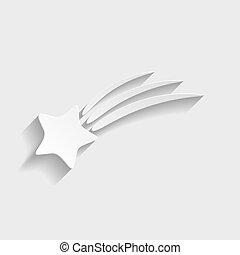 étoile filante, icône