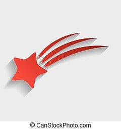 étoile filante, signe