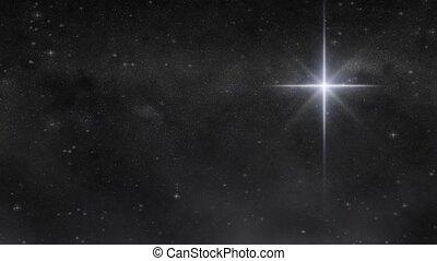 étoile, hd, boucle, merveille