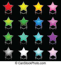 étoile, icônes