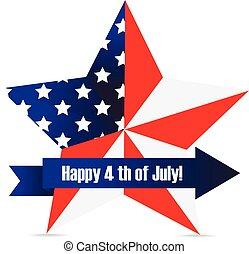 étoile, jour, indépendance