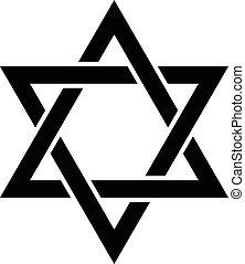 étoile juive, david